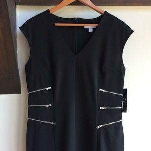 New York & Company Black Cocktail Dress